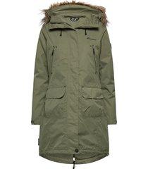 sande 2-layer technical coat outerwear sport jackets grön skogstad