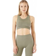 peto seamless mujer in-action verde mate lippi