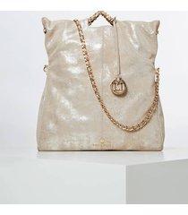 skórzana torebka typu shopper model spice luxe