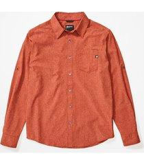 camisa aerobora ls naranja marmot