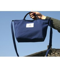 borsa a mano donna casual in canvas con borsa