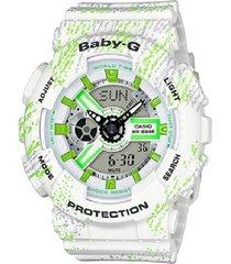 reloj casio ga-110tx-7ad anadigi 100% original-gris