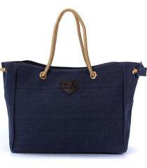 borsa casuale della tela di canapa della borsa della borsa di acquisto del sacchetto della borsa