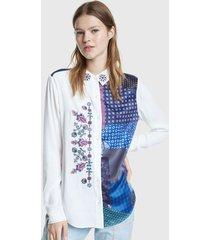 blusa desigual ml multicolor