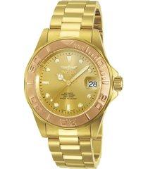 reloj invicta 13930 oro acero inoxidable
