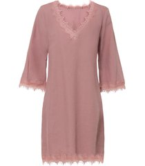 abito in misto lino con tencel™ lyocell (rosa) - bodyflirt