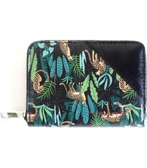 billetera jungle verde i-d