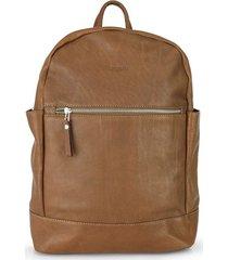 mochila marrón briganti  piera