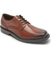 zapatos rockport oxford style leader 2 apron toe-cafe-cafe