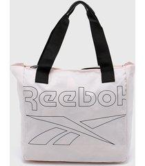 bolso rosa reebok womens essentials t