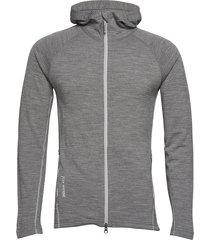 m's wooler houdi sweat-shirts & hoodies mid layer jackets grijs houdini