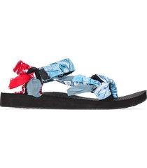 arizona love trekky bandana sandals - blue