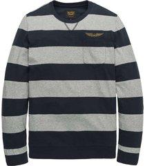 long sleeve t-shirt striped jersey