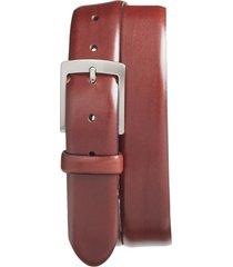 men's bosca heritage leather belt, size 36 - dark brown
