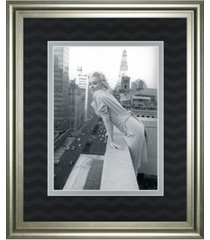 "classy art top of the world by chelsea collection framed print wall art, 34"" x 40"""