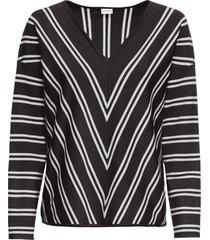 maglione a righe (nero) - bodyflirt