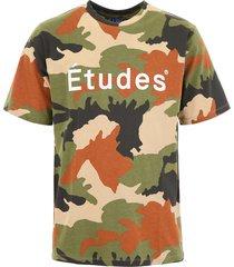 études camouflage logo t-shirt