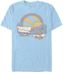 fifth sun men's california trip short sleeve crew t-shirt
