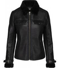 angella leather jacket
