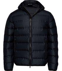 jacket fodrad jacka svart ea7