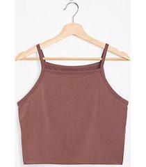 lou & grey fluid cupro cropped tank