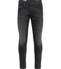 d-strukt slim jeans zwart diesel men