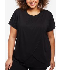 motherhood maternity plus size scoop-neck nursing top