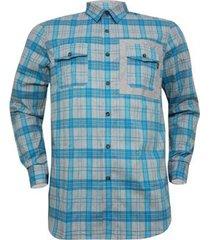 camisa oakley xadrez o-plaid woven masculino