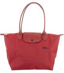 longchamp le pliage club shoulder bag s red