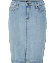 jeanskjol pencil skirt slim