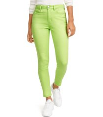 tinseltown juniors' neon wash skinny jeans
