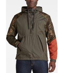 men's reversible anorak jacket