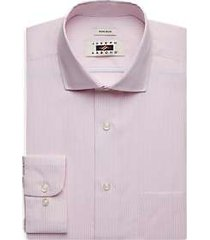 joseph abboud pink gingham dress shirt