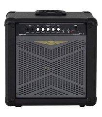 cubo amplificador para contrabaixo 1x6 pol 30w rms oneal ocb-208x preto