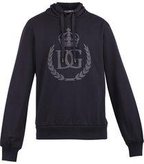 dolce & gabbana branded hoodie