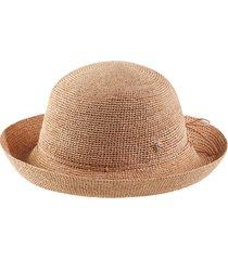 helen kaminski packable raffia hat in nougat at nordstrom
