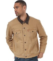 mens lined trucker jacket
