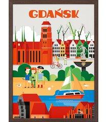 gdańsk, plakat 61x91