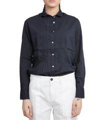 massimo alba blue dea shirt