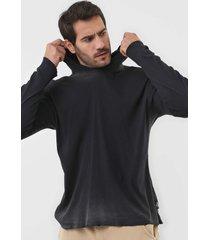 camiseta calvin klein jeans com capuz preta