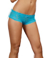 dreamgirl women's stretch lace low-rise cheeky hipster panty