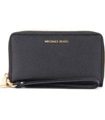 michael kors black wrist wallet with smartphone holder