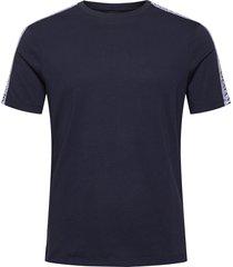 armani exchange jumper t-shirts short-sleeved blå armani exchange