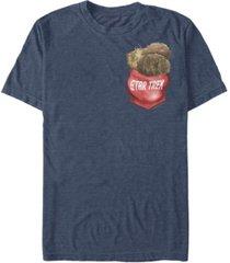 fifth sun star trek the original series men's pocket of tribbles short sleeve t-shirt