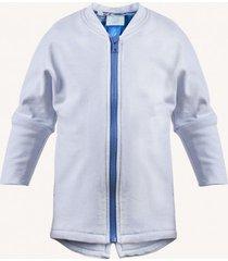 bluza bomber dziecięcy merino