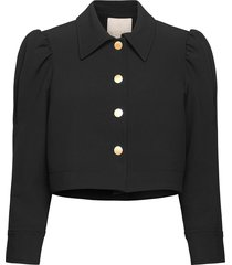 tailored jacket sommarjacka tunn jacka svart by ti mo