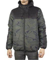 jaqueta masculina com capuz element alder puff ca