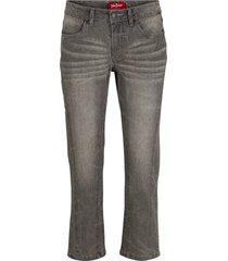 jeans cropped morbidi (grigio) - john baner jeanswear