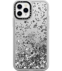 casetify glitter iphone 11/11 pro/11 pro max case - metallic