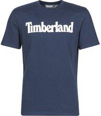 t-shirt korte mouw timberland ss kennebec river brand linear tee